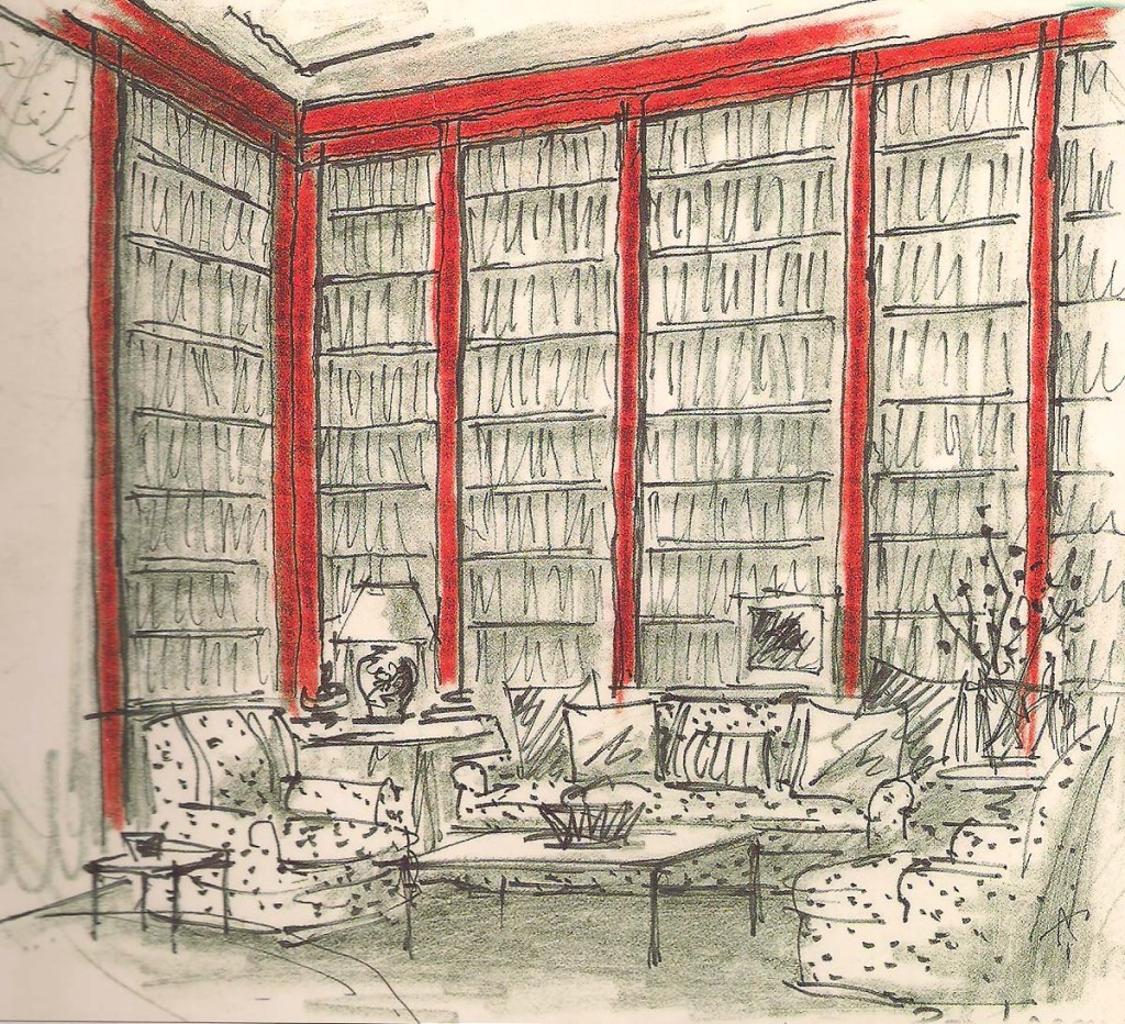astor library sketch